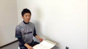 松本市のスタジオコアダイエットの担当トレーナーとのカウンセリング