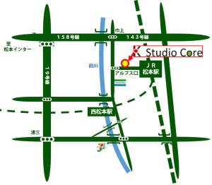 スタジオコアダイエットは松本駅アルプス口から徒歩1分でアクセスも簡単