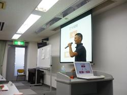 松本市のパーソナルトレーニングジム代表の講演会
